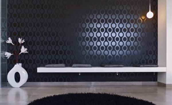 cores para casa: preto