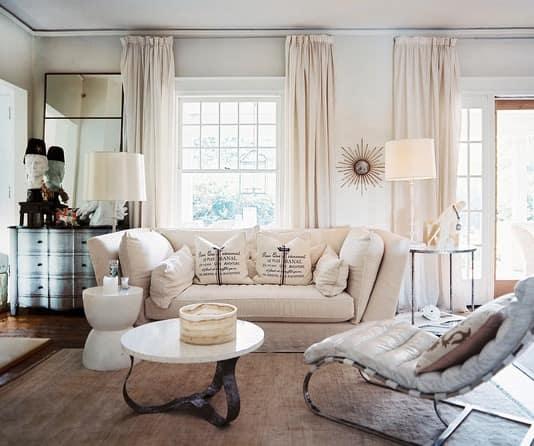 sugestões e modelos de cortinas para sala