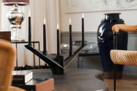 decoração com velas diferentes