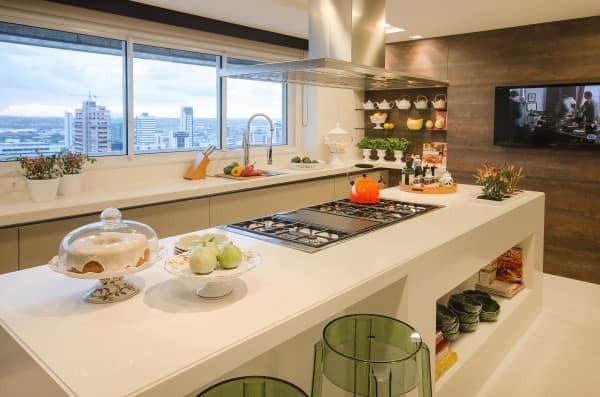 fotos de cozinhas modernas com ilha
